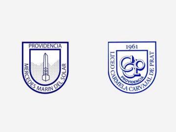 Insignias de colegios de educación pública de Providencia