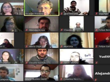 Sesión remota perfeccionamiento de docentes EPJA