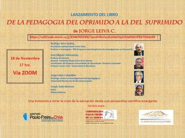Programa lanzamiento del libro Jorge Leiva