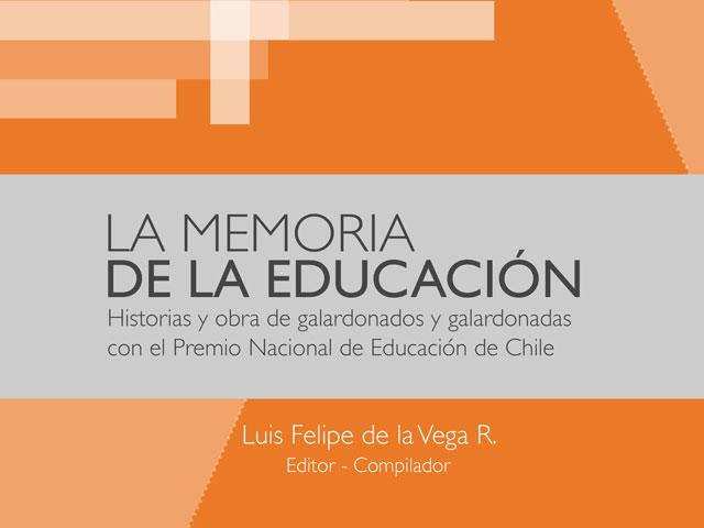 """Portada del libro """"Memoria de la Educación"""""""
