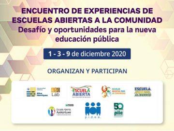 Afiche Encuentro de Escuelas abiertas 2020