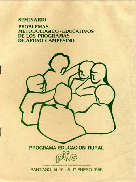 Portada Programa Educacional rural 1986