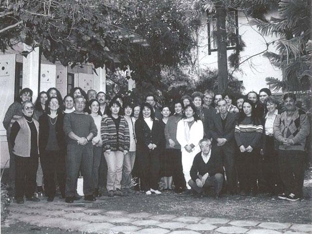 Integrantes del PIIE en 1998