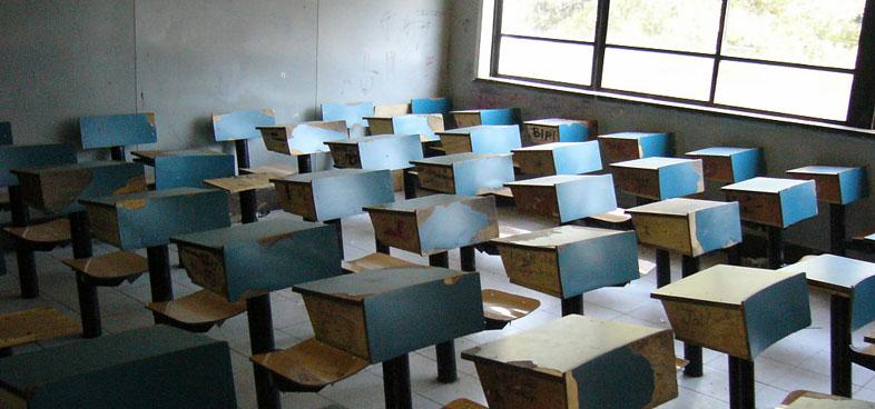 Sala de clases en Chile